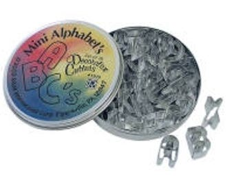 Mini Alphabet Cookie Cutter Set