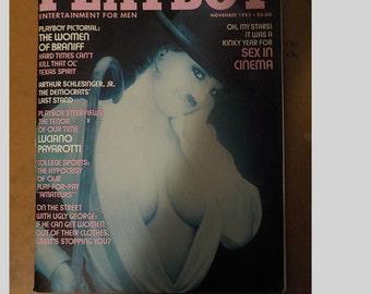 Playboy Magazine Entertainment For Men November 1982 The Women Of Braniff Issue