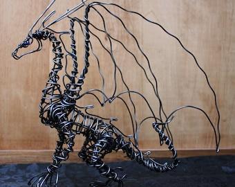 Haywire Dragon Statue