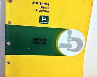 John Deere 820 Series Diesel Tractors Service Manual SM2021 (Apr 57) (5053)