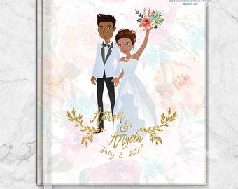 Portrait Guest Book, Wedding Guest book Wedding Gift Guestbook, Custom Guest book, Portrait, Wedding Gift, Bridal shower Gift Guest Book