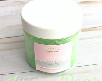 Body butter-JUICEY PEAR body butter, pear lotion, moisturizer, women's gift, Mother's Day gift