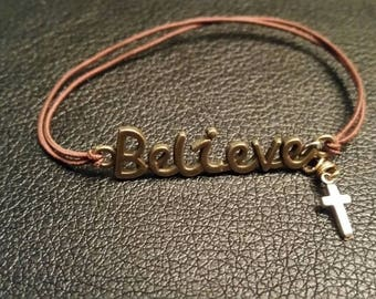 Believe Stretch Bracelet