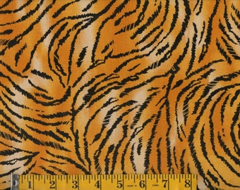 Animal  Print Cotton Fabric, Animal Skin Print By the Yard  #256-2