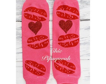 Valentine's Leg Warmers, Baby Leg Warmers, Girls Leg Warmers, Toddler Leg Warmers, Kids Leg Warmers, First Birthday, Smash Outfit, Leggings