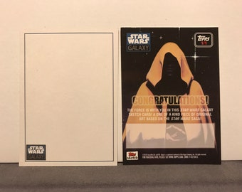 Topps Star Wars Galaxy 6 Sketch Card Commissions