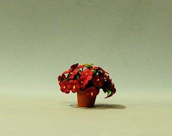1 inch scale miniature-Petunia
