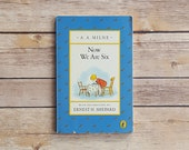 Winnie the Pooh Poems by AA Milne | Now We Are Six 1990s Vintage Children's Book | 90s Retro Hundred Acre Woods Book | Cute Baby Shower Gift