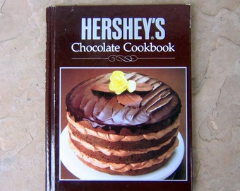 Hershey's Chocolate Cookbook, Hershey Cook Book, 1989 Vintage Cookbook