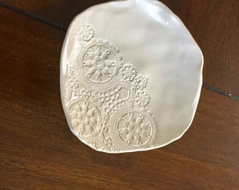 Lace Jewelry Dish