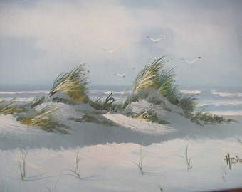 Seascape Beach Painting Gulf of Mexico Florida Beach Oil Painting