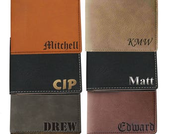 Custom Wallet, Mens Leather Wallet, Bi Fold Wallet, Engraved Wallet, Personalized Leather Wallet, Monogrammed Wallet, BiFold Wallet