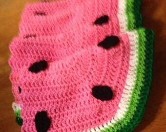 Watermelon place mat set