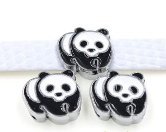 Details-Panda Slide Charm each (1)