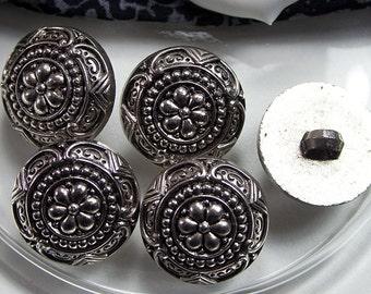 5 buttons dress 20mm, vintage buttons.