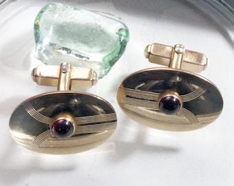 Vintage cufflinks Art Deco, Anson