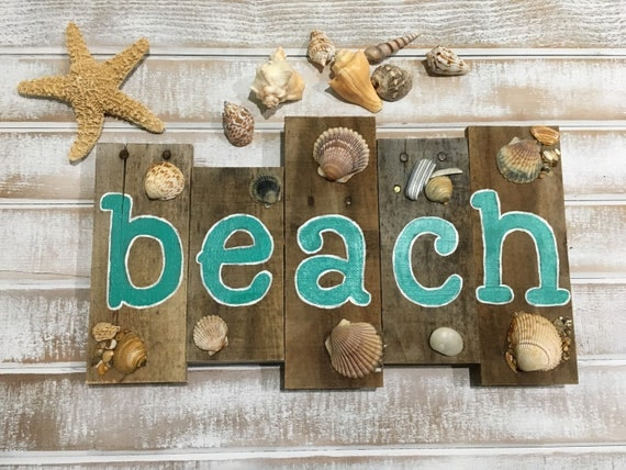 Items Similar To Beach Signs, Beach Decor, Pallet Sign