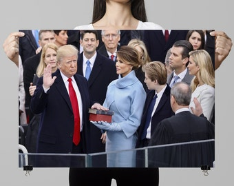 President Donald Trump Inauguration Poster (PRESIDENTIAL-14)