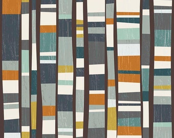 Knock Main in Dark Gray by Deena Rutter from the Knock on Wood collection for Riley Blake