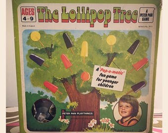 Reduced *The Lollipop Tree Game circa 1970's