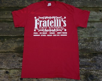 The Goonies Movie - Fratelli's Restaurant Movie T-shirt