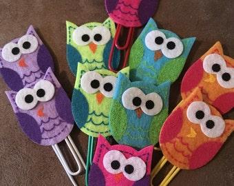 Owl Planner Clips