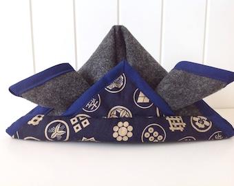 Fabric Kabuto, Samurai Helmet, Japanese Armour Hat, Tango no Sekku, May 5th, Children's Day, Origami, Boys, Matsuri, Dragonfly