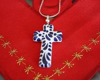 Mexican talavera necklace