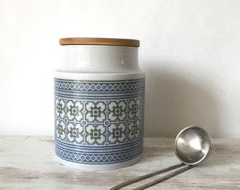 Hornsea Tapestry Storage Jars