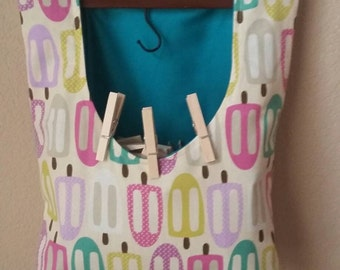 Clothes Pin Bag, Peg Bag, Laundry Bag, Line Dry, Accessories Bag, Toy Organizer, Eco Friendly, Cleaning Supplies