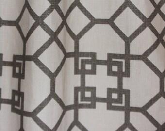 Designer Curtains and Valance: Windsor Smith for Kravet