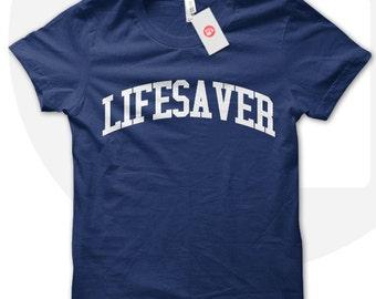 Lifesaver t-shirt, lifesaver tshirt, lifeguarding, lifeguards tshirt, lifesaver fashion tshirt, teen t-shirt.
