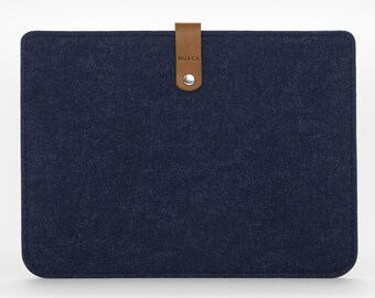 iPad Mini Cover - iPad Mini Case - iPad Mini Leather - Leather Case - iPad Mini Sleeve – Felt Cover