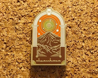 Elsewhere Lapel Pin STS9 V1