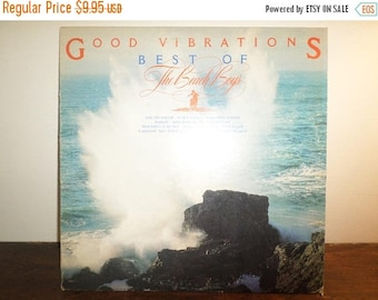 Save 30% Today Vintage 1975 LP Record The Beach Boys Good Vibrations Best Of Volume One Very Good Condition Reprise Records 10945