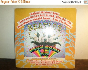 Save 30% Today Vintage 1967 LP Record The Beatles Magical Mystery Tour Stereo Excellent Condition w/Booklet 10353