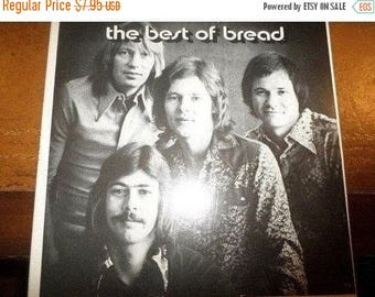 Save 30% Today Vintage 1973 LP Record Bread The Best of Bread Elektra Records 6E-108 Very Good Condition 5888