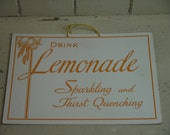 Vintage Lemonade Sign - R...