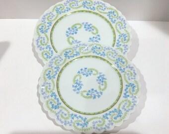 Limoges France Plates, Jean Pouyat Limoges, JP over L plates, French Limoges Plates, Pink Roses Plates,Tea Sets, Antique Limoges Porcelain