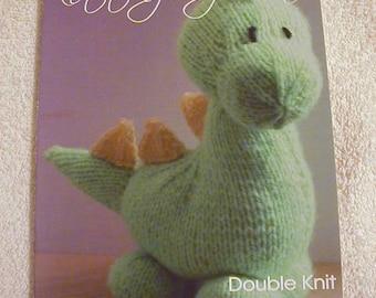 Dinky Dino Knitting Pattern In DK