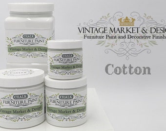 FREE SHIPPING!! Cotton- VM&D Furniture Paint- Chalk Based Paint(4 Sizes)