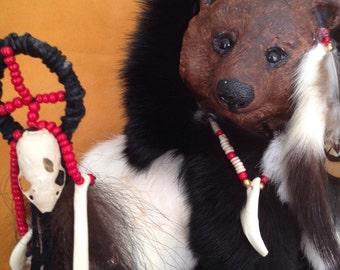 OOAK Art Doll, Shapeshifter Shaman, Bear