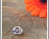 Memorial Jewellery Pet Memorial Memorial Charm in Amethyst