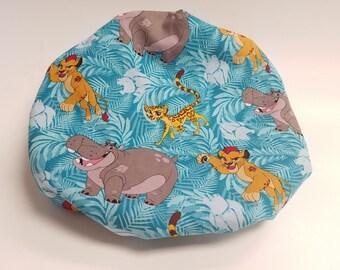 Lion Guard Friend Pack Satin Cap, Satin Bonnet, Satin Lined Sleep Cap