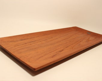 Teak Tray made in Sweden Mid century Johnny Mattsson Upsala Slöjd