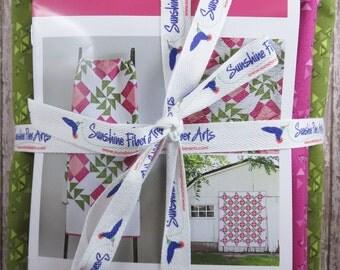 Aunt Rose's Garden  Quilt Pattern Fabric Kit - Moda - V and Co - Vanessa Christenson - VC1242
