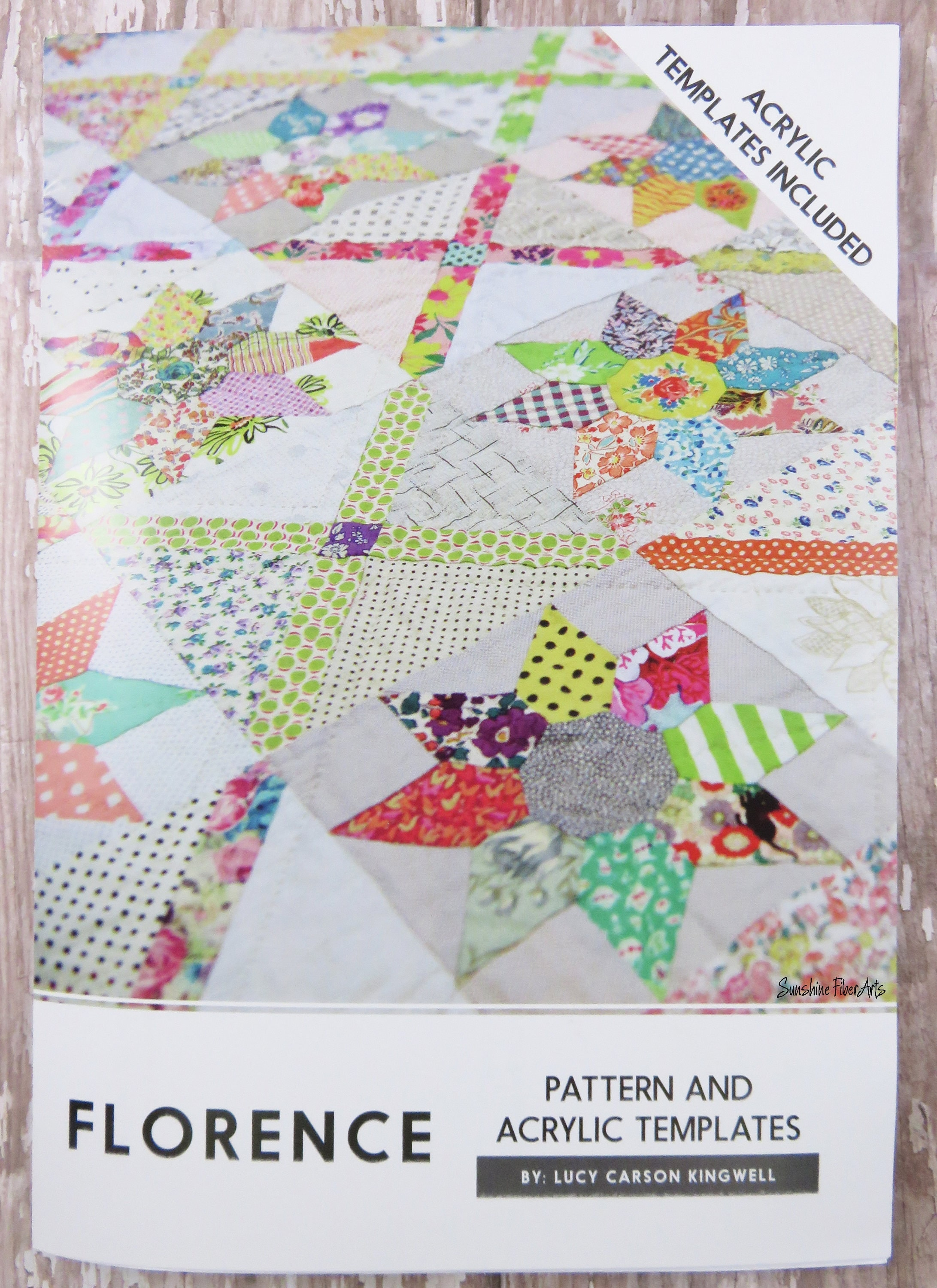 How To Use Acrylic Quilting Templates : Acrylic Templates Florence Quilt Pattern Included Jen