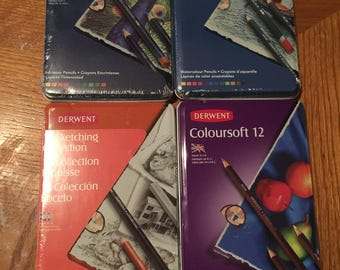 Derwent Art Sets - 4 Sets