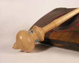 Precious Sheep II  (in Birdseye Maple) - Supported Spindle - Made to Order