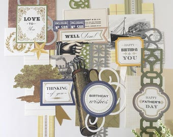 For Him Collage Toppers by Anna Griffin FH3